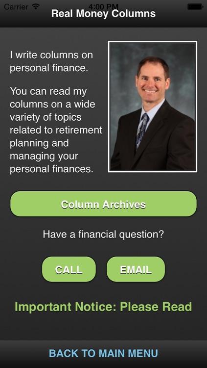 Real Money with David Holland screenshot-3
