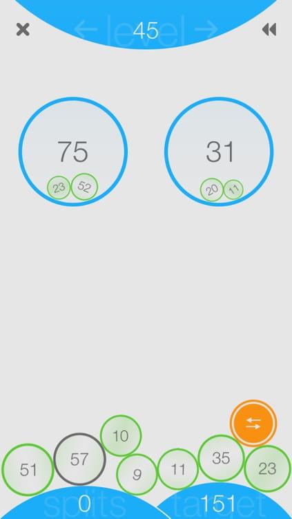 Split: A Numbers Game screenshot-3