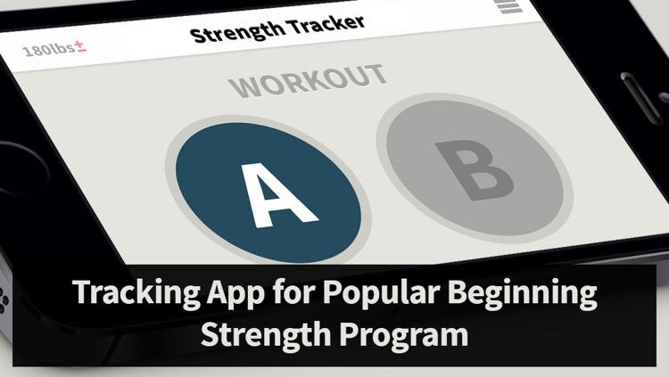 Strength Tracker: Program Tracking for Beginner Weight Lifting