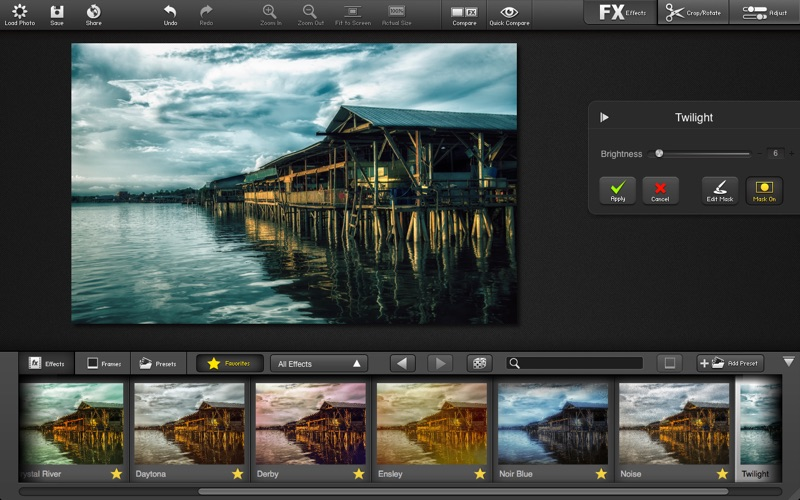 FX Photo Studio PRO Screenshot