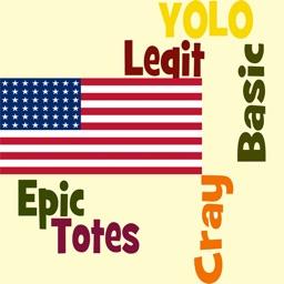 American Slang 1000! New Slang Dictionary of Urban Slangs, Idioms and Phrases