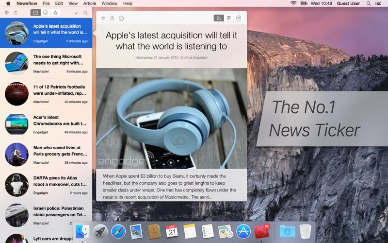 Newsflow: The No.1 News Ticker Screenshot 01 xnj6bn
