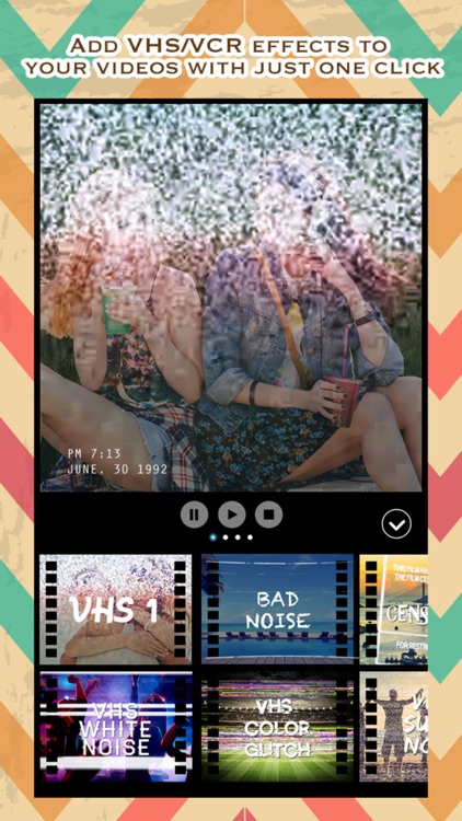 VCR Camcorder - Add Retro Camera and VHS Camcorder Effect to Video for Instagram screenshot-0