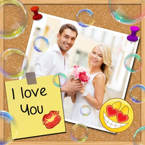 Love Frames and Stickers iOS App
