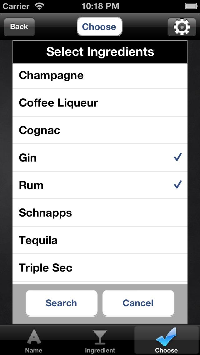 Mr Bartender - Mixed Drink, Bartending & Cocktail Recipes Screenshot