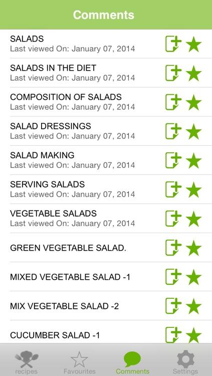 Fresh Salad Recipes screenshot-4