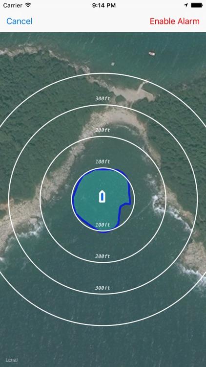 Anchor Alarm - Anchor watch for sailor / yachtsman screenshot-3
