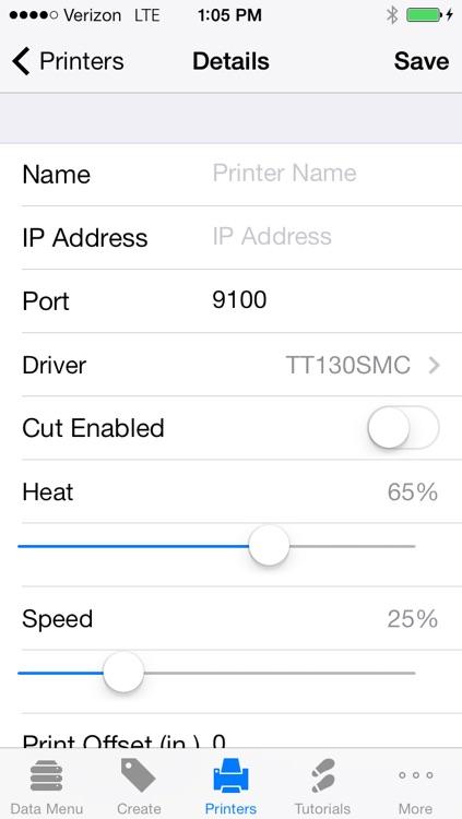 TagPrint Xpress Data screenshot-3
