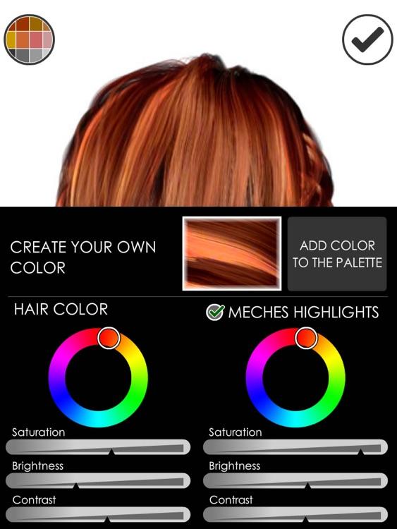 Hairstyle Magic Mirror HD screenshot-4