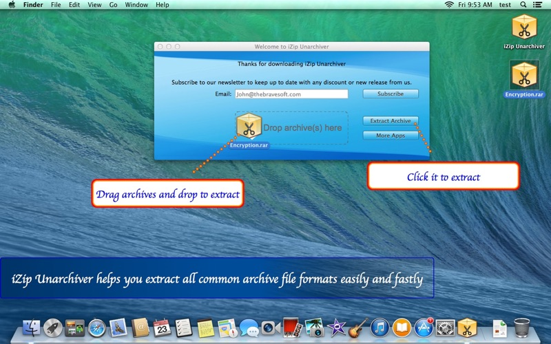 how to open rar files on mac unarchiver