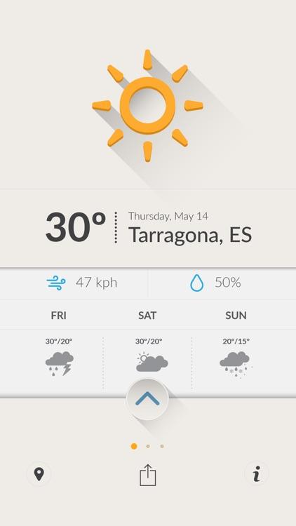 Cool Weather - Optimistic Weather Forecasts screenshot-3