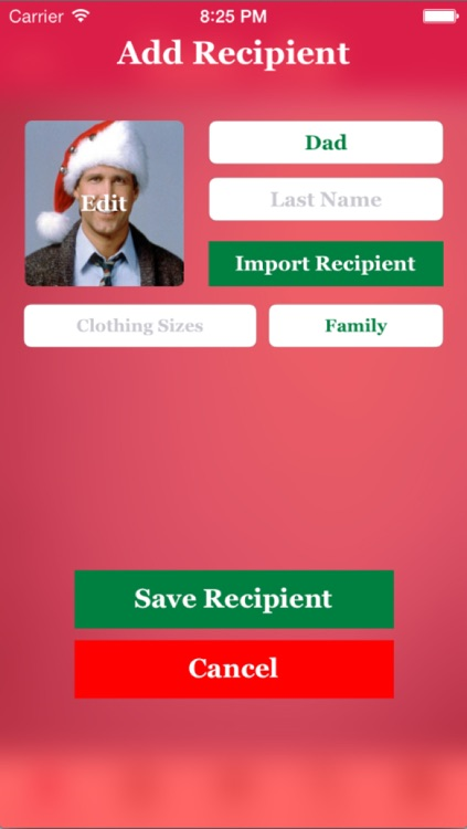 Santa's List - Christmas Gift Organizer screenshot-2