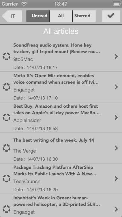 TTRSS Reader screenshot-3