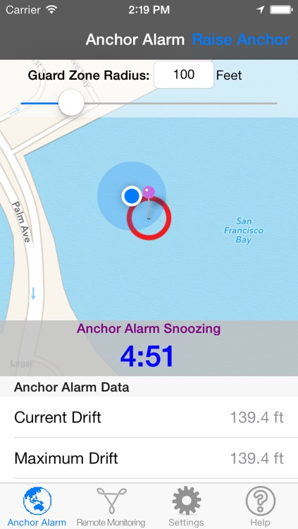 Anchor Alarm for Sail and Power Boaters screenshot-3