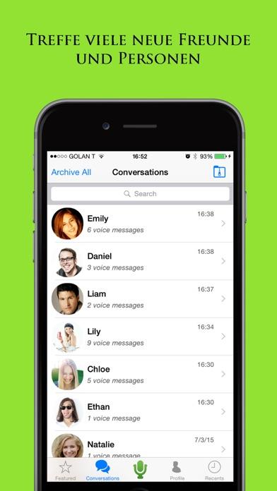 Tintone: Treffen Sie neue Leute Freunde durch ChatScreenshot von 3