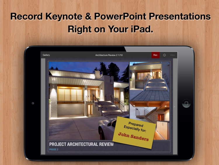 Presentation Recorder - Create Videos of Keynote and PowerPoint Slide Decks for Sales, Training, Remote Meetings, and More. screenshot-0