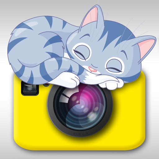 Cat Snap - Photo Bomb Funny Cats Instantly Into Your Photos With Kitty Collage & Picture Frames HD