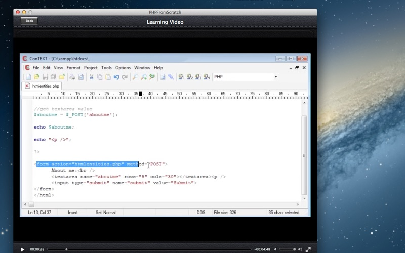 PHP From Scratch screenshot 3