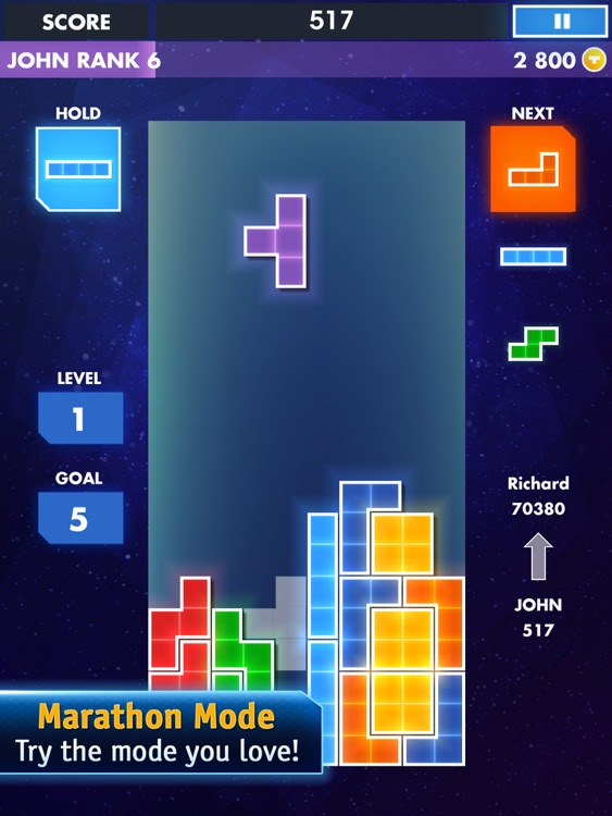 TETRIS® Premium for iPad screenshot-1