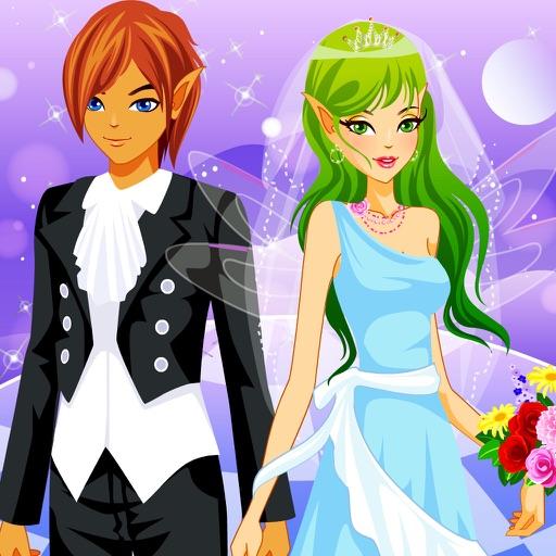 仙女新娘换装