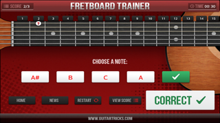 Guitar Fretboard Challenge Screenshot