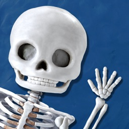 Skeleton Dance by Busy Brain Media - The Fun Educational Puzzle Game that Teaches Kids the Name and Position of Bones in the Human Body as well as Facts About Their Anatomy as They Play.
