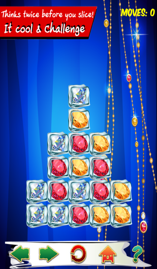 Jewel puzzle : Gems ice block puzzle match color diamond screenshot four