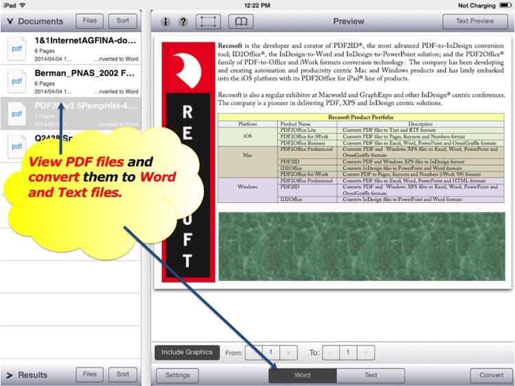 PDF to Word by PDF2Office - PDF Converter