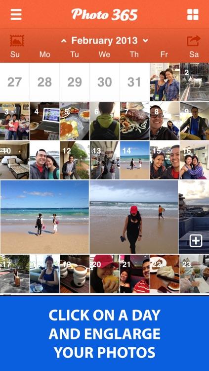 Photo 365 Lite - Everyday Photo Calendar For Your Life screenshot-3