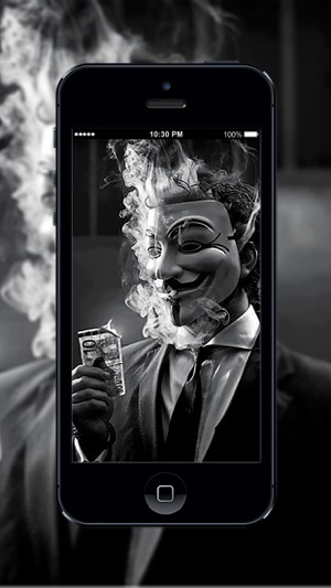 HD Wallpaper Anonymous Hacker on the App Store