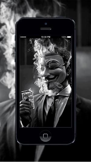 HD Wallpaper Anonymous Hacker On The App Store