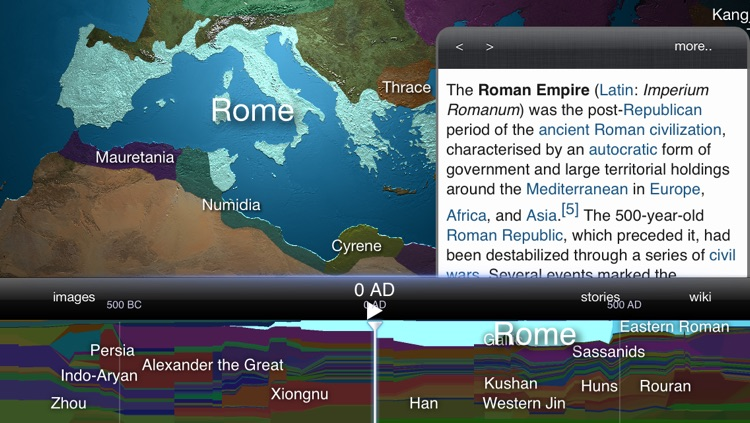 World History Atlas HD with 3D