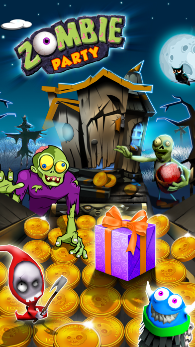 Zombie Party: Halloween Dozer screenshot one