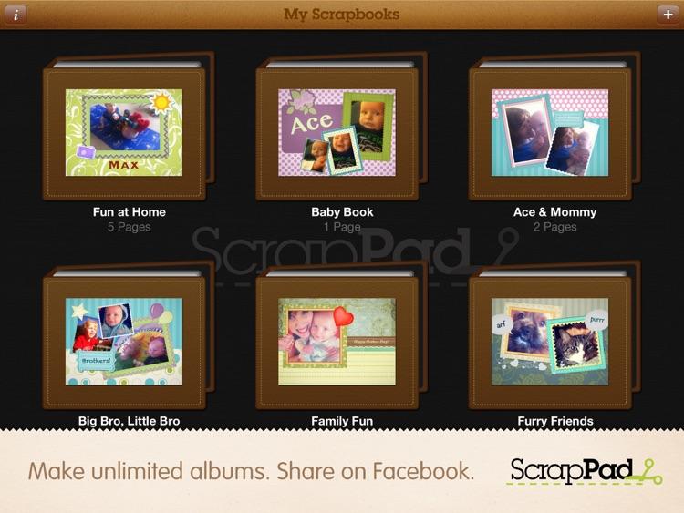 ScrapPad - Scrapbook for iPad screenshot-3
