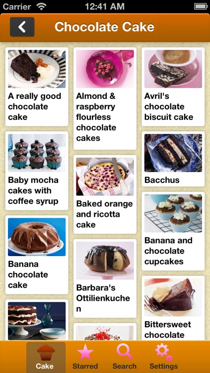 Cake Baking Recipes