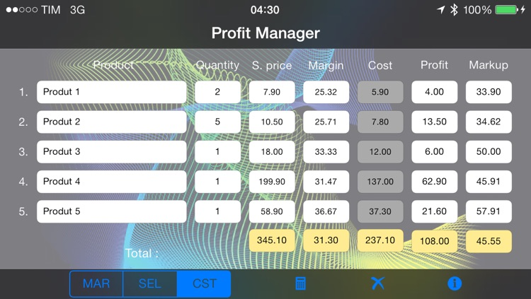 Profit Manager screenshot-2