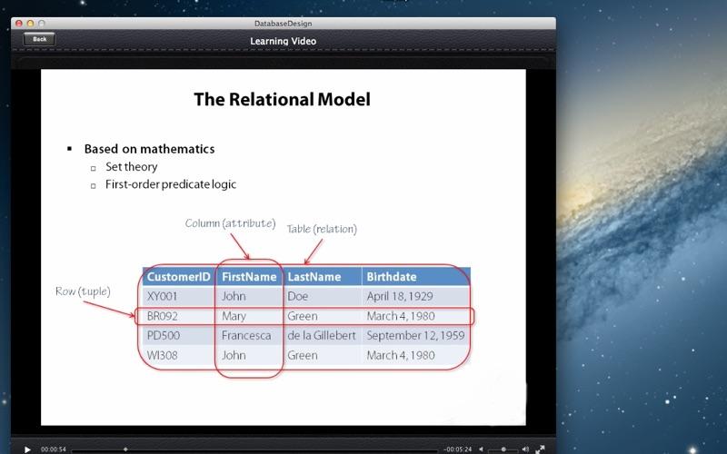 Database Design screenshot 5