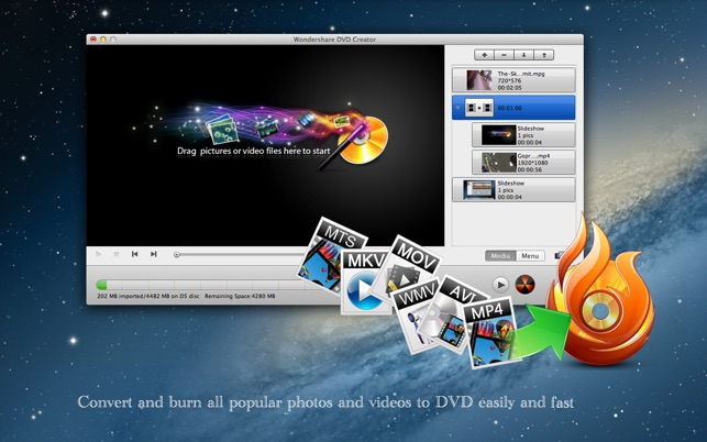 dvd creator on the mac app store