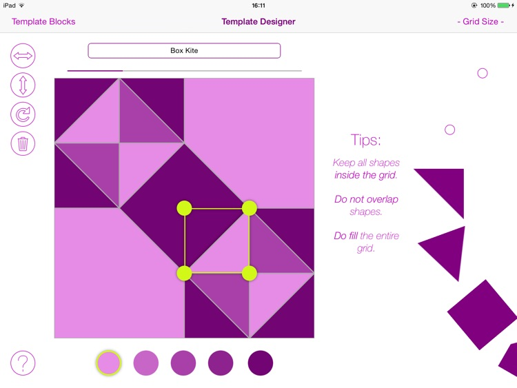 Quiltography : Quilt Design Made Simple screenshot-3