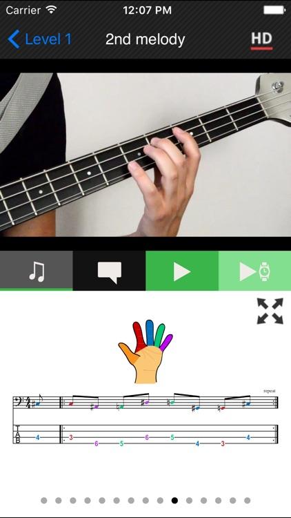 Beginner Bass method HD