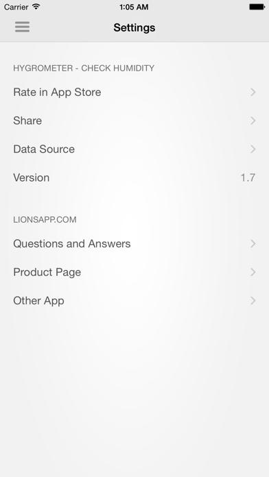 Hygrometer - Check humidity Screenshot 5