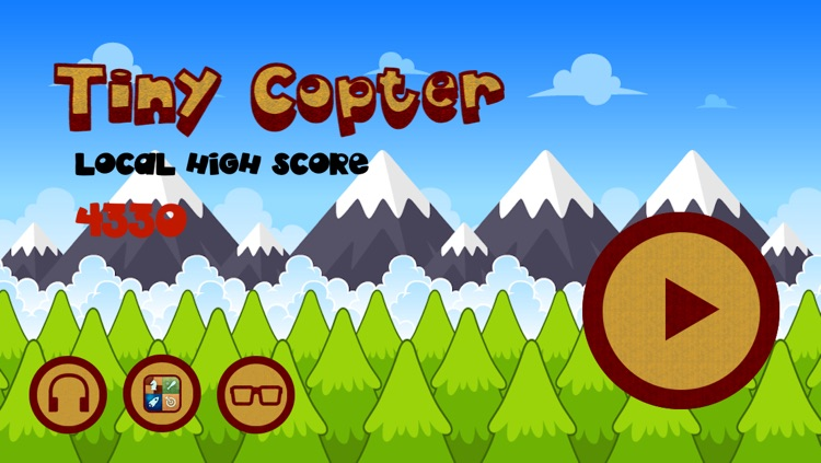 Lyft the tiny copter up :  الهيلكوبتر الصغيرة أشهر لعبة مجاني فى العاب ايفون