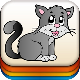 Animal Memory - Classic Matching Puzzle Game for Preschool Toddlers, Boys and Girls