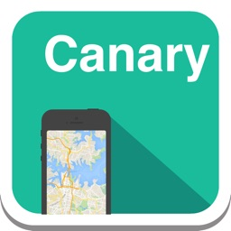 Canary Islands (Tenerife, Gran Canaria, Fuerteventura, Lanzarote) offline map, guide, weather, hotels. Free GPS navigation.