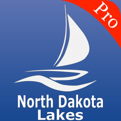 North Dakota Lakes Nautical charts pro