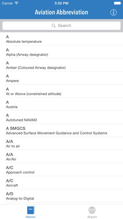 AviationABB - Aviation Abbreviation and Airport Codeのおすすめ画像1
