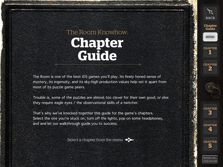 The Pocket Guide to The Room – iPad edition screenshot-1