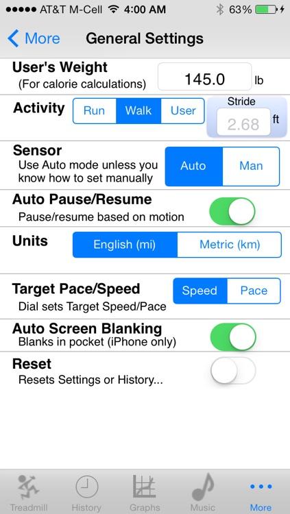 iTreadmill:Pedometer Ultra w/ PocketStep™ screenshot-4