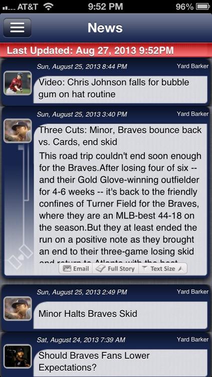 Atlanta Baseball Live screenshot-3