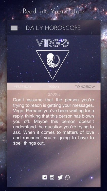 Daily Horoscope - My Future Teller, Zodiac Signs and Astrology Horoscopes Readings by Astrologer screenshot-3